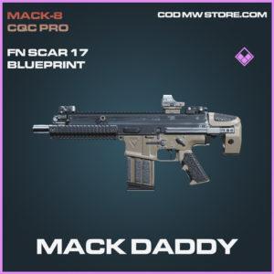 mack Daddy fn scary 17 skin epic blueprint call of duty modern warfare warzone item