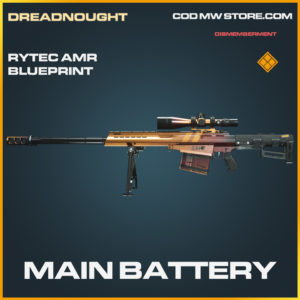 Main Battery Rytec AMR skin legendary blueprint call of duty modern warfare warzone item
