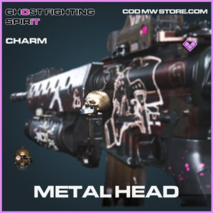 Metal Head charm epic call of duty modern warfare warzone item