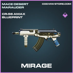 Mirage CR-56 AMAX skin epic blueprint call of duty modern warfare warzone item