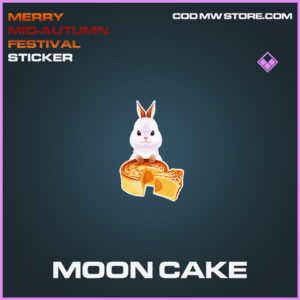 Moon cake sticker epic call of duty modern warfare warzone item