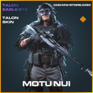 Motu Nui Talon Skin legendary call of duty modern warfare warzone item