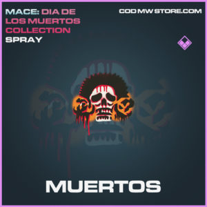 Muertos Spray call of duty modern warfare warzone item
