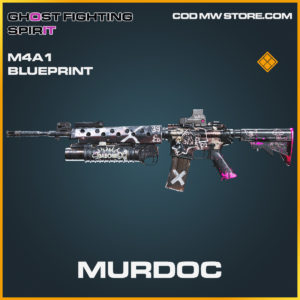 Murdoc M4A1 skin legendary blueprint call of duty modern warfare warzone item