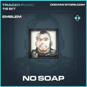 No Soap emblem rare call of duty modern warfare warzone item