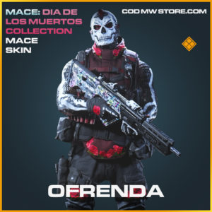 Ofrenda Mace skin call of duty modern warfare warzone item