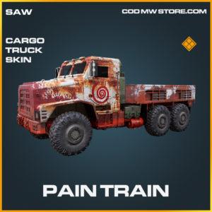 Pain Train Cargo Truck skin legendary call of duty modern warfare warzone item