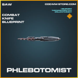 Phlebotomist Combat Knife skin legendary call of duty modern warfare warzone item
