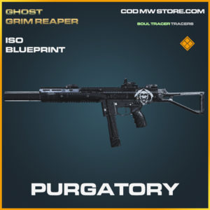 Purgatory ISO skin legendary blueprint call of duty modern warfare warzone item