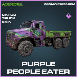 Purple People Eater Cargo Truck skin epic call of duty modern warfare warzone item