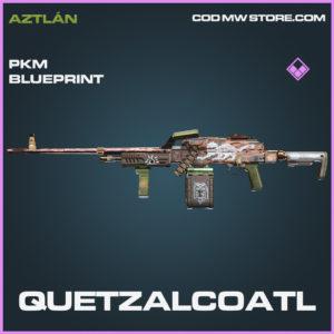 Quetzalcoatl PKM skin epic blueprint call of duty modern warfare warzone item