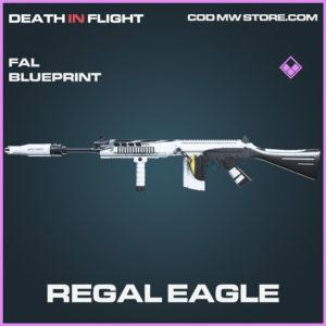 Reagl Eagle FAL skin epic blueprint call of duty modern warfare warzone item