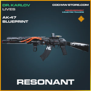 Resonant Ak-47 skin legendary blueprint call of duty modern warfare warzone item