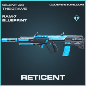 Reticetn RAM-7 skin rare blueprint call of duty modern warfare warzone item