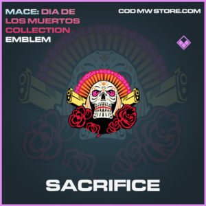 Sacrifice emblem call of duty modern warfare warzone item
