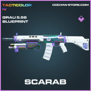 Scarab Grau 5.56 skin epic blueprint call of duty modern warfare warzone item