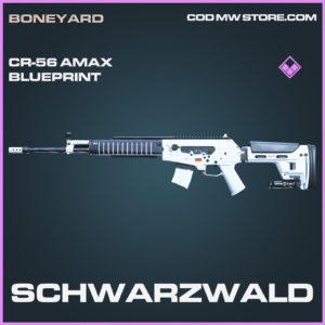 Schwarzwald CR-56 AMAX Skin epic blueprint call of duty modern warfare warzone item