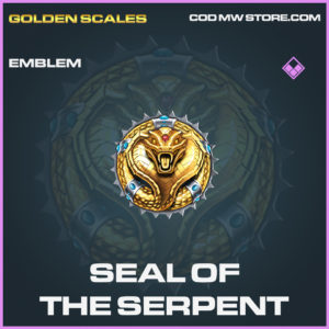 Seal of the serpent emblem epic call of duty modern warfare warzone item