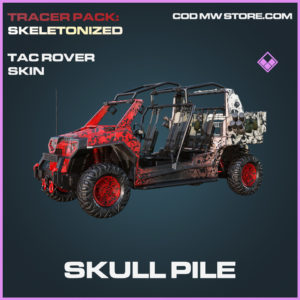 Skull Pile Tac Rover Skin epic call of duty modern warfare warzone item