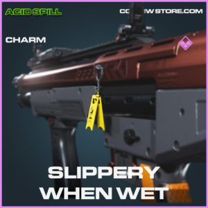 Slippery When Wet charm Epic call of duty modern warfare warzone item