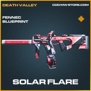 Solar Flare Fennec skin legendary blueprint call of duty modern warfare warzone item