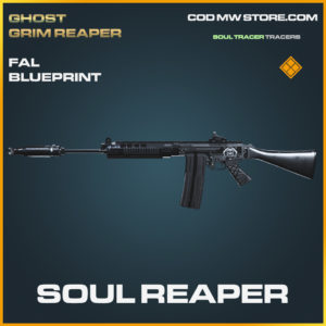 Soul Reaper FAL Skin legendary blueprint call of duty modern warfare warzone item