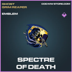 Spectre of Death emblem call of duty modern warfare warzone item