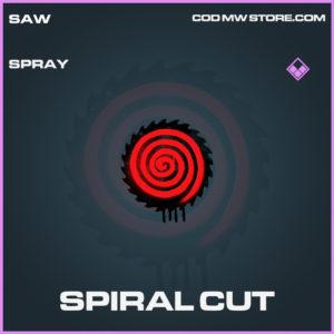 Spiral cut spray epic call of duty modern warfare warzone item