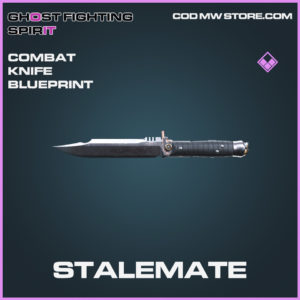 Stalemate Combat Knife skin epic call of duty modern warfare warzone item