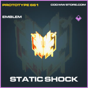 Static Shock emblem epic call of duty modern warfare warzone