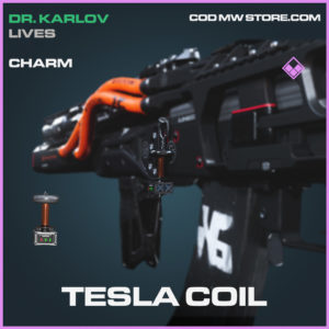 Tesla Coil charm call of duty modern warfare warzone item