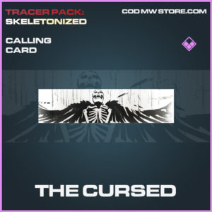 The Cursed calling card epic call of duty modern warfare warzone item