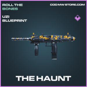 The Haunt Uzi skin epic blueprint call of duty modern warfare warzone item