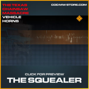 The Squealer vehicle horns call of duty modern warfare warzone item