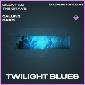 Twilight Blues calling card epic call of duty modern warfare warzone item