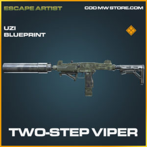Two-Step Viper Uzi skin legendary blueprint call of duty modern warfare warzone item