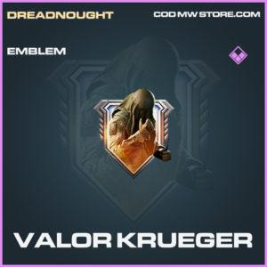 Valor Kreuger Krueger emblem epic call of duty modern warfare warzone item
