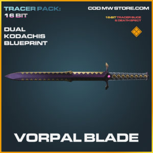 Vorpal Blade Dual Kodachis skin legendary call of duty modern warfare warzone item