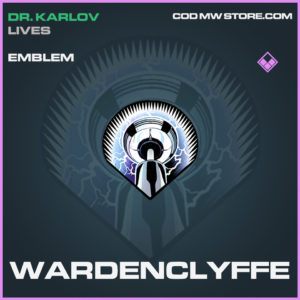 Wardenclyffe emblem epic call of duty modern warfare warzone item