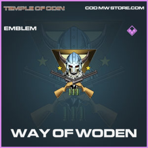 Way of Woden emblem epic call of duty modern warfare warzone item
