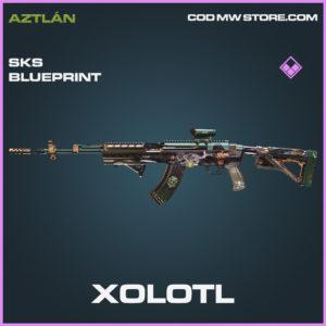Xolotl SKS skin epic blueprint call of duty modern warfare warzone item