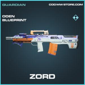 Zord Oden skin rare blueprint call of duty modern warfare warzone item