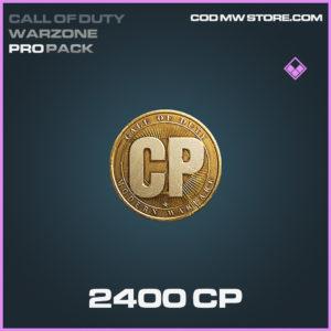 2400 CP Call of Duty modern warfare warzone item