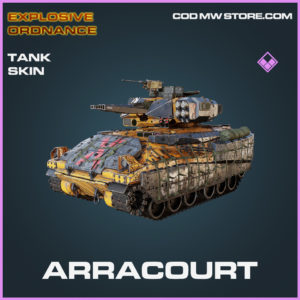 Arracourt tank skin epic Explosive Ordnance call of duty modern warfare warzone item