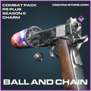 Ball and Chain charm epic call of duty modern warfare warzone item