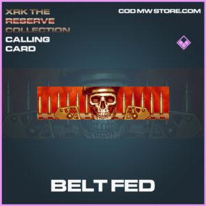 Belt Fed calling cad epic call of duty modern warfare warzone item