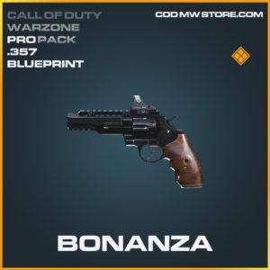 Bonanza .357 skin legendary blueprint Call of Duty modern warfare warzone item