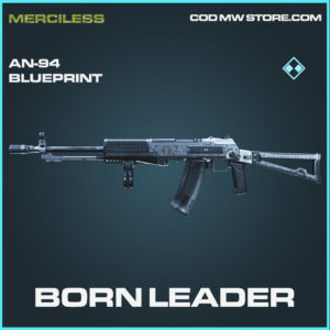 Born Leader AN-94 Skin rare blueprint call of duty modern warfare warzone item