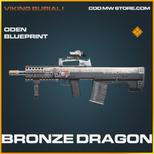 Bronze Dragon Oden Skin legendary blueprint call of duty modern warfare warzone item