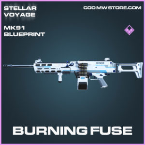 Burning Fuse MK91 skin epic blueprint call of duty modern warfare warzone item